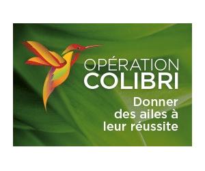 Opération Colibri – Donner des ailes à leur réussite